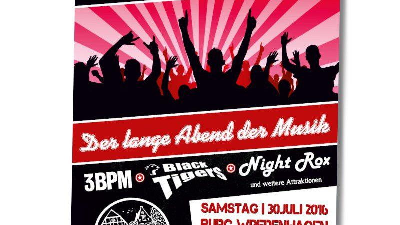 30.Juli | Der Burgberg rockte