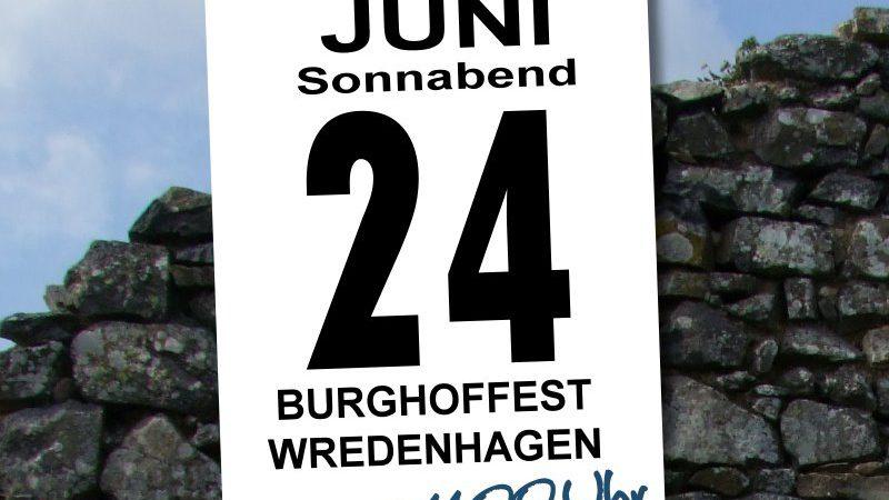 Burghoffest am 24.Juni 2017 | Das Programm