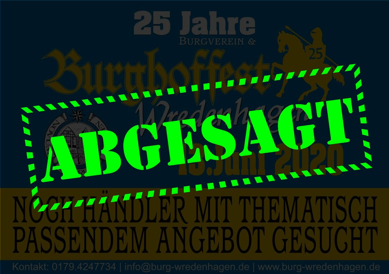 25 Jahre Burghoffest | 25 Jahre Burgverein