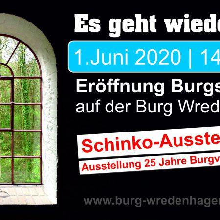 Eröffnung Burgsommer 2020