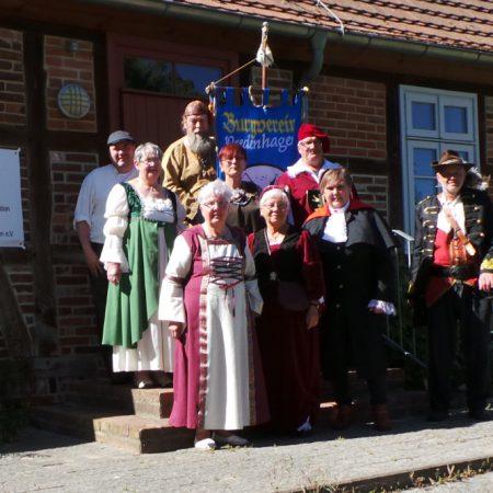 Erinnerungen an 25 Jahre Burgverein Wredenhagen e.V.