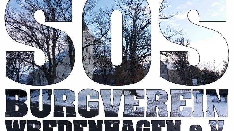 SOS – Stirbt der Burgverein Wredenhagen e.V.